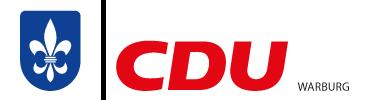 CDU Stadtverband Warburg Logo